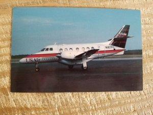 Postcard USAIR EXPRESS BAe 3101 Jetstream 31 airplane VTG unused Postcard*P3