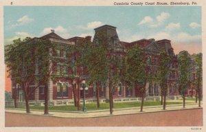 EBENSBURG, Pennsylvania, 1910-20s ; Cambria County Court House