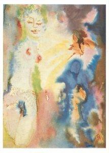 Paintings masterpiece author Postcard Gerhard Stengel Fruhling
