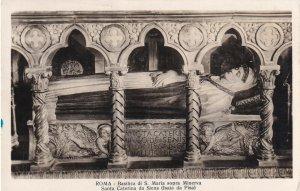 ROMA, Italy, PU-1950; Basilica Di S. Maria Sopra Minerva Santa Caterina Da Siena