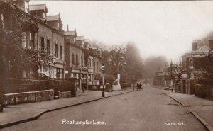 RP: ROEHAMPTON , SW London, England , UK , 1900-10s ; Roehampton Lane