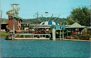 Bowling Green Kentucky~Beech Bend Amusement Park~Rides on Waterfront~1960s