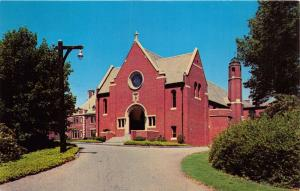 MT KISCO NEW YORK CENACLE RETREAT HOUSE FOR WOMEN~ADORATION CHAPEL POSTCARD