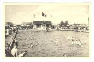 Pool, Bassin De Natation, Ste-Anne-Plage, Anvers, Belgium, 1900-1910s
