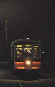 TTC Peter Witt car 2766 , Toronto , Ontario , Canada , 50-60s