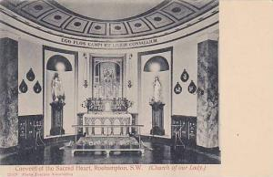 Church Of Our Lady, Convent Of The Sacred Heart, Roehampton, S. W., London, E...