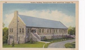 Pennsylvania Cresson Surgery Building Pennsylvania State Sanatorium Curteich
