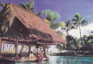 Pool Bar , Regent of Fiji , Denarau Island , Nadi Bay , Fiji , PU-1989