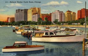 IL - Chicago. Belmont Harbor Yacht Basin