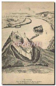 Old Postcard Les Andelys