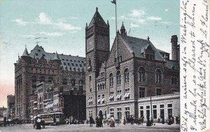 NEWARK , New Jersey , PU-1907 :  Broad Street