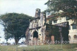 Malaya, Malaysia Malacca Ancient Fort