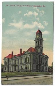 Wilmington, Delaware, View of New Castle County Court House, 1912