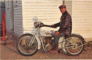 G7/ Murdo South Dakota Postcard Chrome Museum Harley Davidson Motorcycle