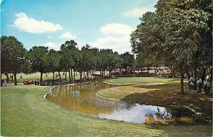 Scene at Colonial Country Club, Fort Worth, Texas, TX, Chrome