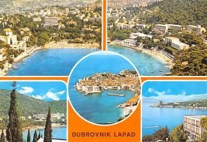 Yugoslavia Old Vintage Antique Post Card Dubrovnik Lapad 1977