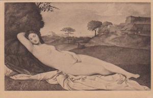 Giorgione Schlummernde Venus Nude Topless