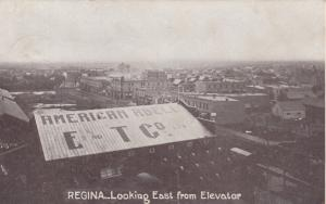 REGINA , Sask. , Canada , 1900-10s ; Looking East from Elevator