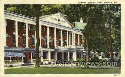 Bedford Springs Hotel Bedford PA Unused