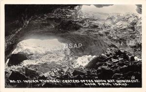 C70/ Arco Idaho Id Real Photo RPPC Postcard Craters of the Moon Monument c1950 2