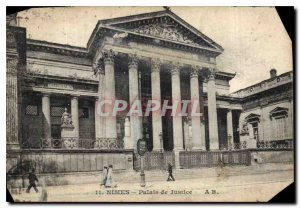 Postcard Nimes Old Courthouse