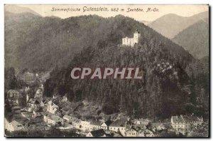 Postcard Old Sommerfrische Gutenstein Seehöhe