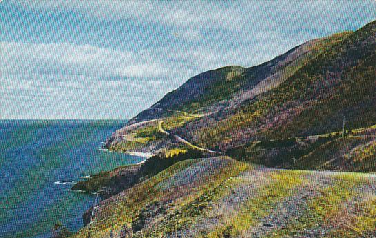 Canada Cape Rouge On Cabot Trail Cape Breton Nova Scotia