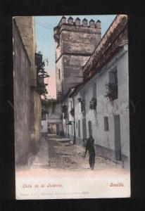 053460 SPAIN Sevilla Calle de la Juberia  Vintage PC
