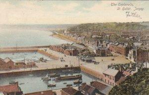 ST. HELIER, Jersey, 1900-10s; The Esplanade