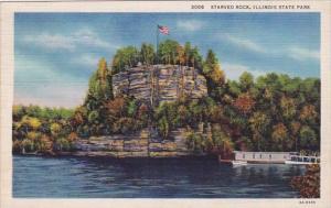 Starved Rock Illinois State Park Illinois 1934