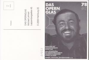 Luciano Pavarotti Das Opern Glas Hamburg Germany