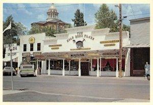 Gold Rush Plaza AUBURN, CA Old Town Street Scene Continental Vintage Postcard