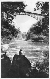 Zimbabwe Rhodesia, Victoria Falls, The Bridge and Boiling Pot 1951