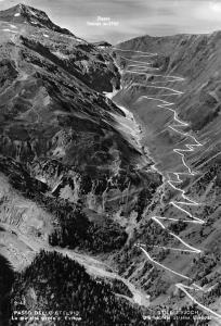 Italy Passo Dello Stelvio La plu atta Strada d'Europa Stilfserjoch Highway