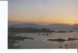 Postal-Postcard 17425: FINISTERRE - Puesta de Sol en la Costa de Finisterre
