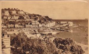 Torquay Harbour From Rock Walk, Torquay (Devon), England, UK, 1910-1920s