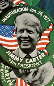 President Jimmy Carter Inauguration Buttons