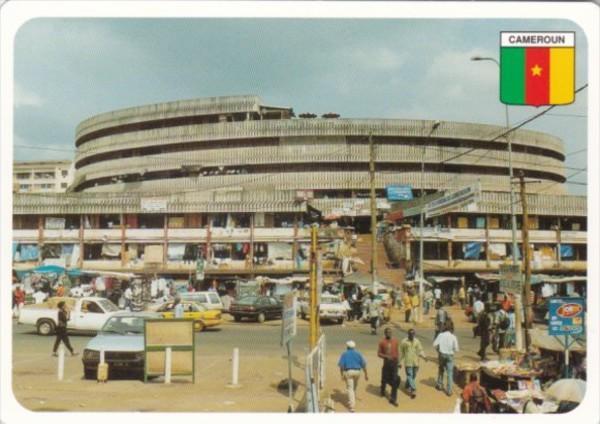 Cameroun Yaounde Marche Central