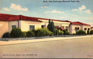 Alabama Maxwell Field Post Exchange Curteich