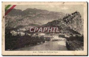 Postcard Old Argo Veduta dal Ponte sul Sarca