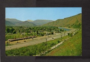 WA Cashmere Washington State Postcard Cascade Mountains nr Wenatchee