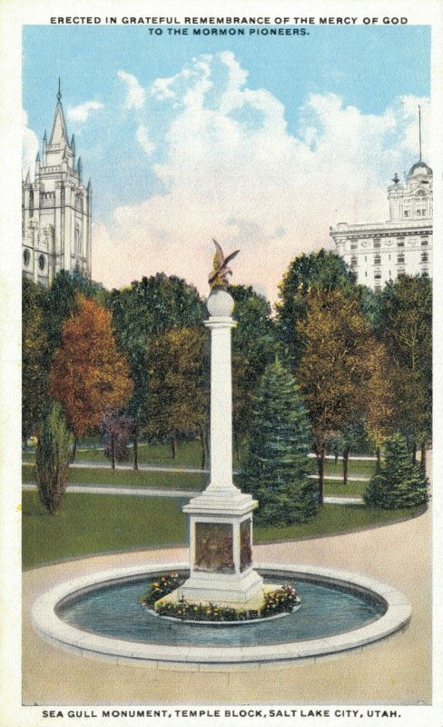 USA Remembrance of the Mercy of God to the Mormon Pioneers Salt Lake City 07.18