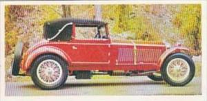 Craven Black Cat Vintage Cigarette Card Vintage Cars No 43 1930 Alfa Romeo Italy
