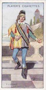Player Vintage Cigarette Card Gilbert & Sullivan 2nd Series No 9 Florian  1927