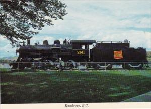 Canada Kamloops Canadian National Train Vernon British Columbia