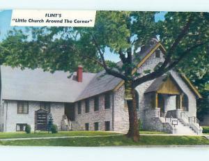 Pre-1980 CHURCH SCENE Flint Michigan MI hs7679