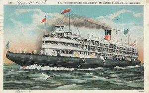 S.S. Christopher Columbus , 1926
