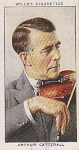 Wills Vintage Cigarette Card Radio Celebrities No 16 Arthur Catterall