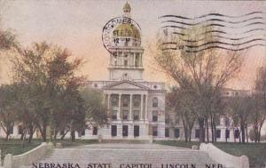 Nebraska State Capitol Lincoln Nebraska 1910