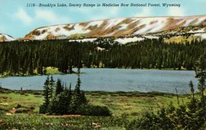 WY - Medicine Bow National Forest. Brooklyn Lake